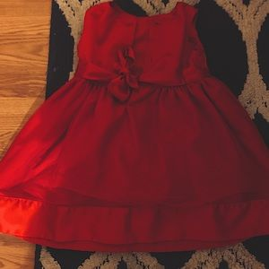 Red rose dress for little girls for sale